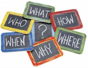 esercizi inglese domandare