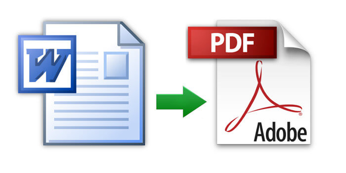 Convertire un documento Word nel formato PDF e altri formati