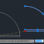 Modificare con i grip – Autocad