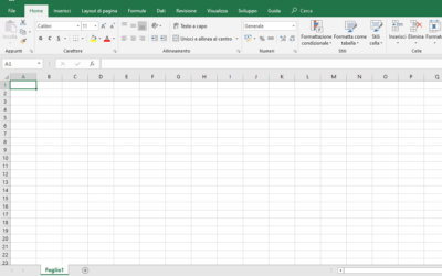Primi passi in Excel